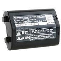Image of Nikon Nikon EN-EL4 Rechargeable Lithium-ion Battery Pack for Nikon D700, D300, D3, D2H /D2X Digital SLR Camera & MB-40 Battery Pack