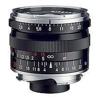 Image of Zeiss Zeiss 28mm f/2.8 T* ZM Biogon Lens for Leica M Mount Rangefinder Cameras, Black