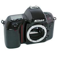 Image of Nikon Nikon N70 Black SLR Auto Focus Camera Body