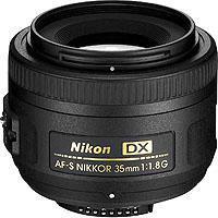 Image of Nikon Nikon 35mm f/1.8G AF-S DX Nikkor Lens for DSLR Cameras