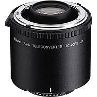 Image of Nikon Nikon TC-20E II 2x Teleconverter for AF-S & AF-i Lenses.