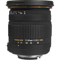 Image of Sigma Sigma 17-50mm f/2.8 EX DC OS HSM Auto Focus Wide Angle Zoom Lens for Nikon Digital SLR Cameras