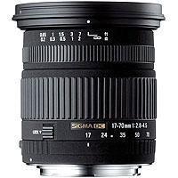 Image of Sigma Sigma 17-70mm f/2.8-4.5 DC HSM Macro Autofocus Wide Angle Zoom Lens for Nikon AF Cameras