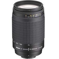 Image of Nikon Nikon 70-300mm f/4-5.6G AF Telephoto Zoom Nikkor Lens (Black)