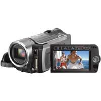"""Image of Canon Canon VIXIA HF100 High Definition Flash Memory Camcorder with 12x Optical Zoom, 200x Digital Zoom, 2.7"""" LCD Screen"""