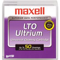 Maxell LTO Ultrium Universal Cleaning Cartridge for LTO-1/2/3/4 & 5 Tape Drives, 15-20 Cleanings