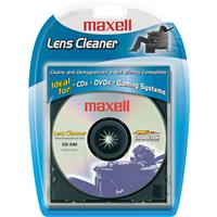 Maxell CD-340 Lens Cleaner for CD Players and CD-ROM Drives