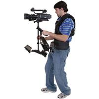 "VariZoom Aviator, Dual Arm Stabilzer with 7"" 16:9 NTSC Monitor, Supports Cameras 5-15 lbs. Product picture - 19"