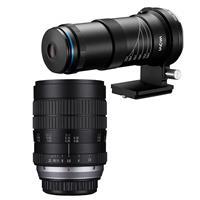 Image of Venus Laowa 25mm f/2.8 2.5-5X Ultra-Macro Lens - With Venus Laowa 60mm F/2.8 Ultra Macro Manual Focus Lens for Canon EF Mount