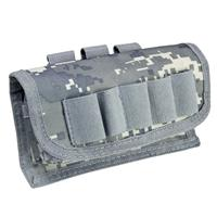 Image of NcSTAR Vism Shot Shell Pouch, MOLLE Compatible, Digital Camouflage