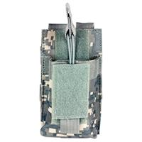 Image of NcSTAR Vism Single Magazine Pouch, for One Double Stack Magazine, Digital Camouflage