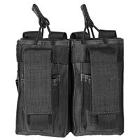 Image of NcSTAR Vism Double Magazine Pouch, for Two Double Stack Magazines, Black.