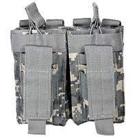 Image of NcSTAR Vism Double Magazine Pouch, for Two Double Stack Magazines, Digital Camouflage.