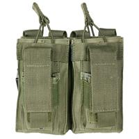 Image of NcSTAR Vism Double Magazine Pouch, for Two Double Stack Magazines, Olive.