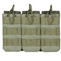 Compare Prices Of  NcSTAR Vism Triple Magazine Pouch, for Three Double Stack Magazines, Green.