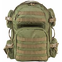 Image of NcSTAR Vism Tactical Backpack, Green with Tan Trim