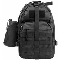 Image of NcSTAR Vism Sling Backpack with Water Bottle Holder, Black