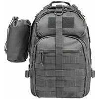 Image of NcSTAR Vism Sling Backpack with Water Bottle Holder, Urban Gray
