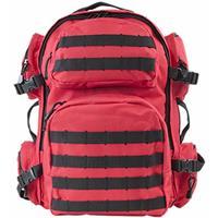 Image of NcSTAR Vism Tactical Backpack, Red with Black Trim