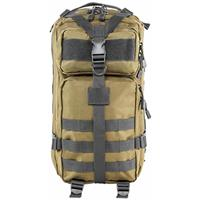 Image of NcSTAR Vism Small Backpack, Tan with Urban Gray Trim