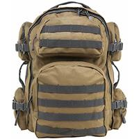 Compare Prices Of  NcSTAR Vism Tactical Backpack, Tan with Urban Gray Trim