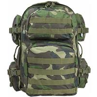Image of NcSTAR Vism Tactical Backpack, Woodland Camo