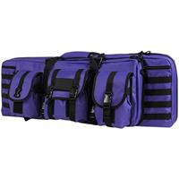 """Image of NcSTAR Vism 36"""" Soft Padded Double Carbine Case, Purple with Black Trim"""