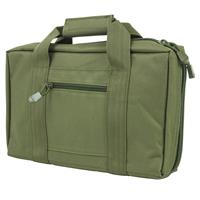 Image of NcSTAR Vism Discreet Pistol Case with Two Separate Padded Compartments, Green