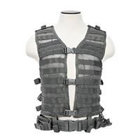 Compare Prices Of  NcSTAR Vism PAL/MOLLE Modular Mesh Lined Vest, Fits Medium-XL+ T-Shirt Sizes, Urban Gray