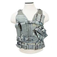 Image of NcSTAR Vism Children's Tactical Vest, Size 8 to 13 Year Olds, Fits X-Small to Small, Camo