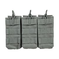 Image of NcSTAR Vism Triple Mag Pouch, Holds 3 Magazines, Urban Gray