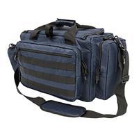 Image of NcSTAR Vism Competition Range Bag, Blue with Black Trim