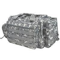 Image of NcSTAR Vism Competition Range Bag, Gray Digital Camo