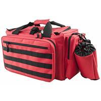 Image of NcSTAR Vism Competition Range Bag, Red with Black Trim