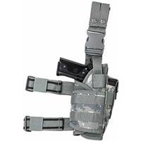 Image of NcSTAR Vism Drop Leg Right Hand Tactical Holster for Full Size and Compact Semi-Auto Pistols, Digital Camo