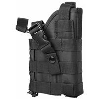 Image of NcSTAR Vism Ambidextrous Modular MOLLE Holster for Pistols, Black