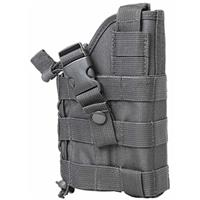 Image of NcSTAR Vism Ambidextrous Modular MOLLE Holster for Pistols, Urban Gray