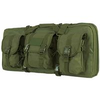 Image of NcSTAR Vism Deluxe Soft Padded AR & AK Pistol Subgun Gun Case with 3 Accessory Pockets, Green