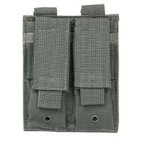 Image of NcSTAR Vism Double Pistol Mag Pouch, Holds 2 Each Standard Capacity Double Stack Pistol Magazines, Urban Gray