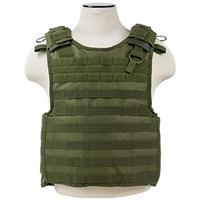 """Image of NcSTAR Vism Quick Release Plate Carrier Vest, Up to 11x14"""" Armor Plate Pocket, Fits Medium to 2XL, Green"""
