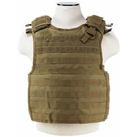 Compare Prices Of  NcSTAR Vism Quick Release Plate Carrier Vest, Fits Medium to 2X-Large, Tan