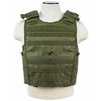 """Compare Prices Of  NcSTAR Vism Expert Plate Carrier Vest, Up to 11x14"""" Armor Plate Pocket, Fits Medium to 2XL, Green"""