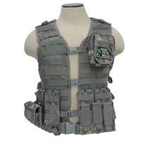 Compare Prices Of  NcSTAR Vism Zombie Rezurrection Alpha Kit with Vest, MOLLE Panel, 4 Pouches, Digital Camo