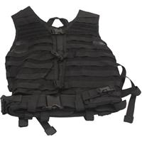 Image of NcSTAR Vism Zombie Infected Bravo Kit with Vest, 5 Pouches, Black