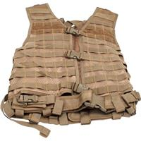 Image of NcSTAR Vism Zombie Infected Bravo Kit with Vest/5 Pouches, Tan