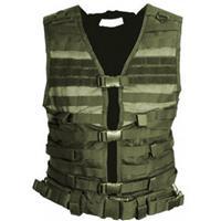 Image of NcSTAR Vism PAL Modular Vest, Fits Medium to 2X-Large, Green