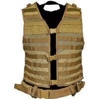 Image of NcSTAR Vism PAL Modular Vest, Fits Medium to 2X-Large, Tan