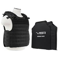 "Image of NcSTAR Vism Quick Release Ballistic Plate Carrier Vest with 11x14"" Soft Panels, Fits Medium - 2XL, Black"
