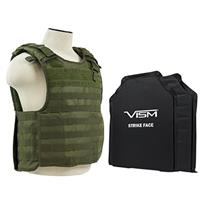 """Compare Prices Of  NcSTAR Vism Quick Release Ballistic Plate Carrier Vest with 11x14"""" Soft Panels, Fits Medium - 2XL, Green"""