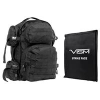 "Image of NcSTAR Vism Tactical Backpack with 10x12"" Soft Ballistic Panel, Black"